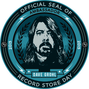 Official seal of Record Store Day.